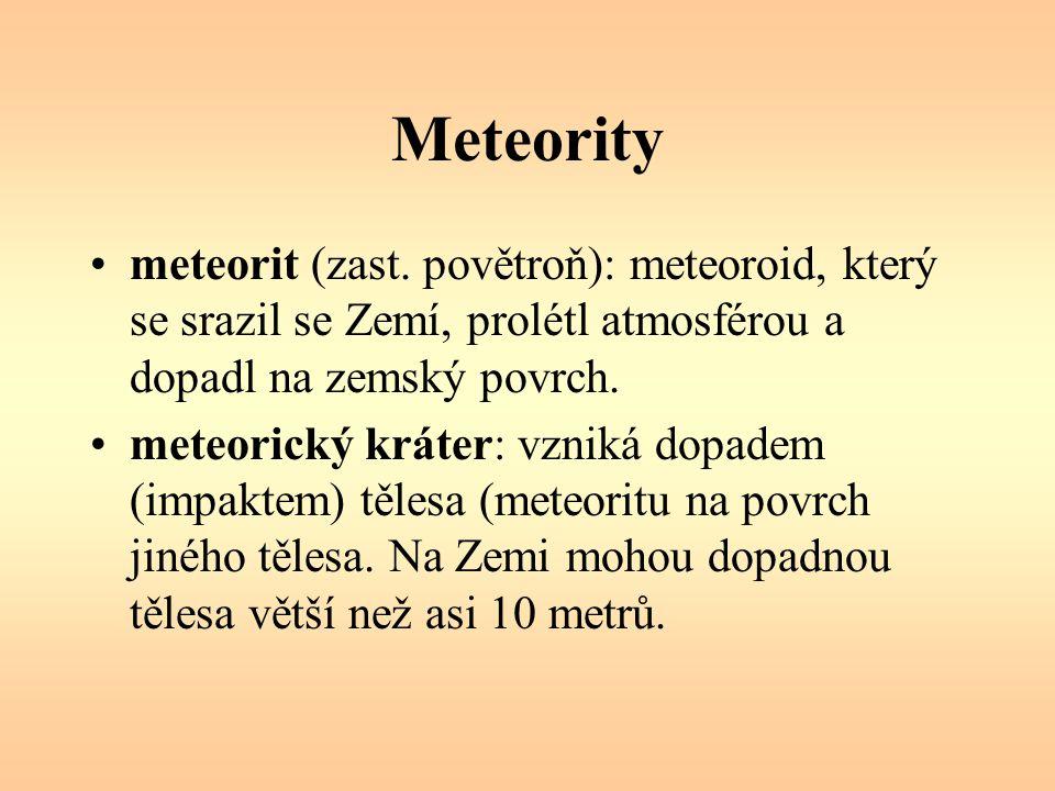 Meteority meteorit (zast.