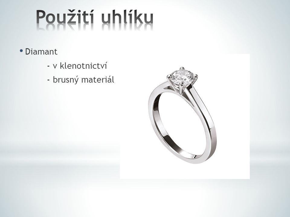 Diamant - v klenotnictví - brusný materiál
