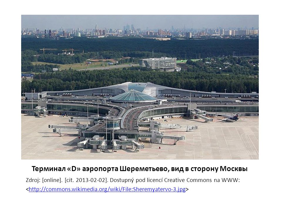 Терминал аэропорта Домодедово Zdroj: [online].[cit.