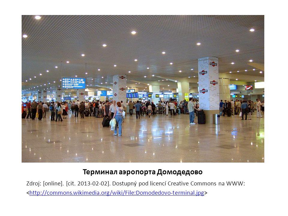 Аэропорт Пулково, Санкт-Петербург Zdroj: [online].