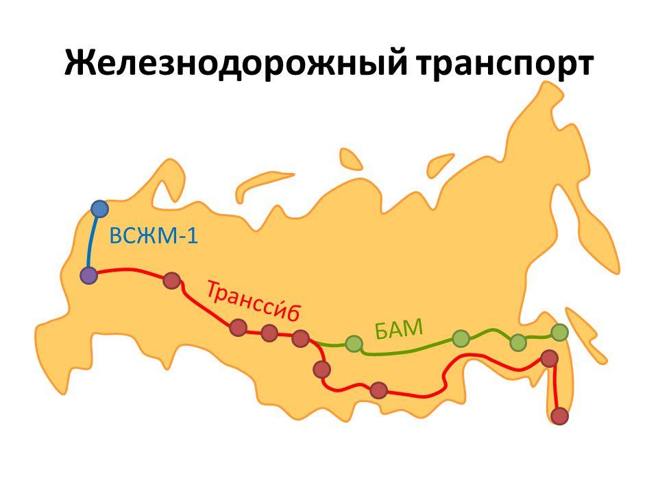 Транссибирская магистраль Транссибирская железная дорога самая длинная магистраль в мире – расстояние 9 288 километров строение начало во Владивостоке в 1891-ом году, строили её 25 лет каждые два дня отправляется из Ярославского вокзала в Москве экспресс Россия от Москвы до Владивостока можно проехать за шесть с половиной дня перевозка в год представляет 20 000 контейнеров