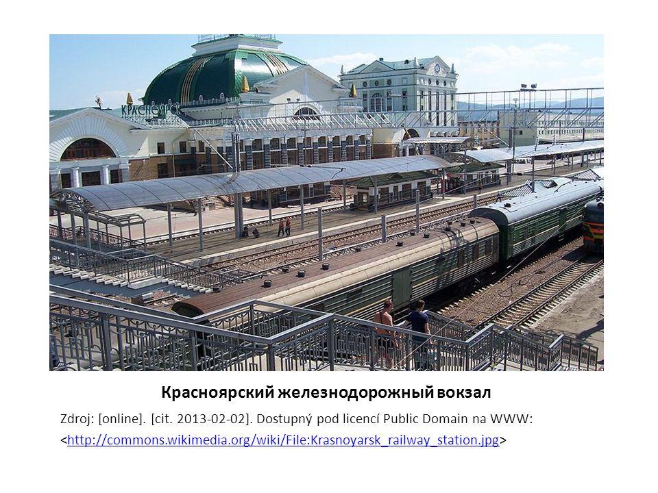 Рынок на пероне Zdroj: [online].[cit. 2013-02-06].
