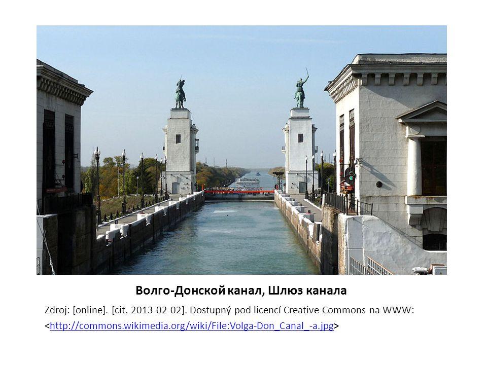 Сплав леса по Петровскому каналу, 1909 Zdroj: [online].