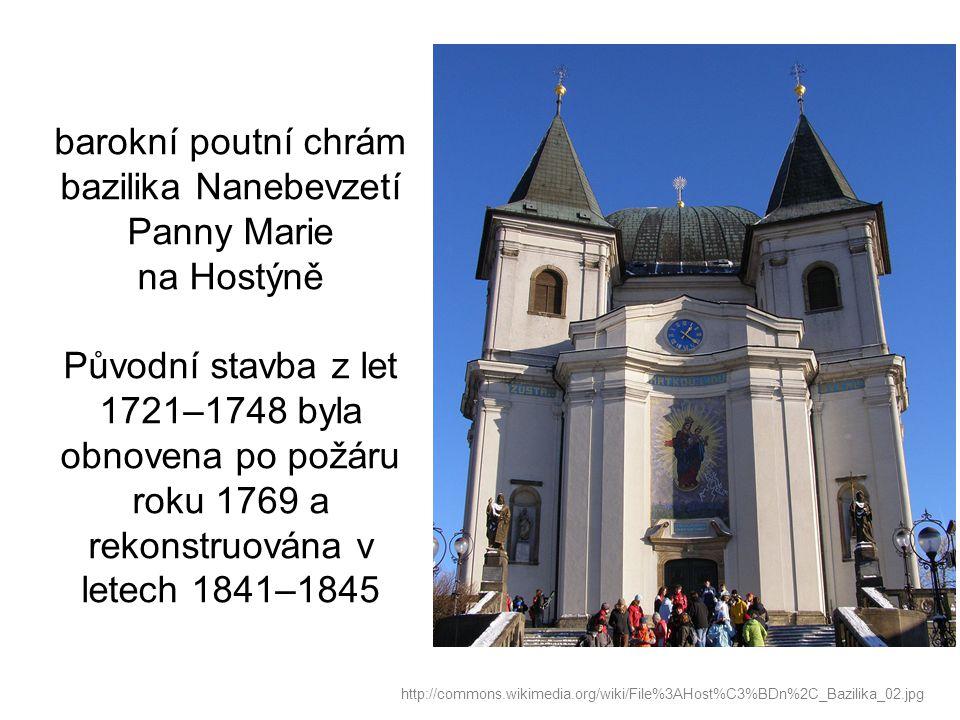 Zastavení křížové cesty Dušana Jurkoviče na Hostýně (1903) http://commons.wikimedia.org/wiki/File%3AHost%C3%BDn%2C_k%C5%99%C3%AD%C5%BEov%C3%A1_cesta_04.jpg