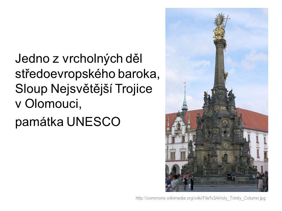 Morový sloup Panny Marie Neposkvrněné v Kutné Hoře postavený v letech 1713 až 1715 http://commons.wikimedia.org/wiki/File%3AKutna_Hora_CZ_Plague_column_02.jpg