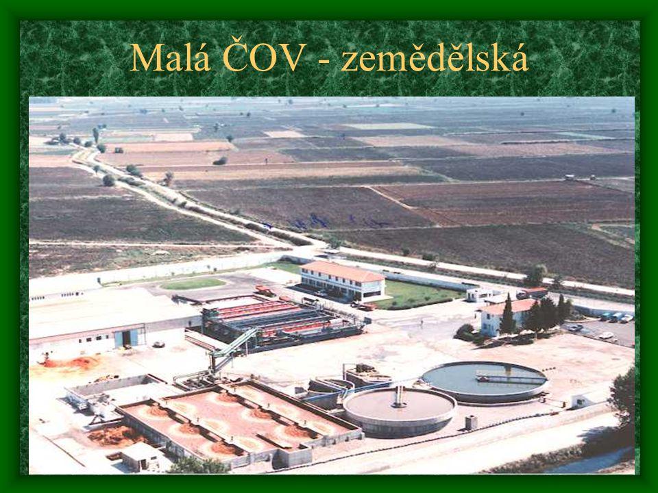 Malá ČOV - zemědělská