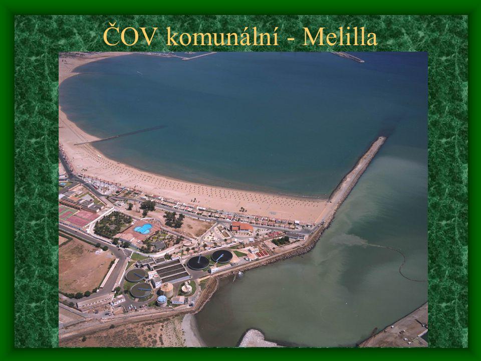 ČOV komunální - Melilla