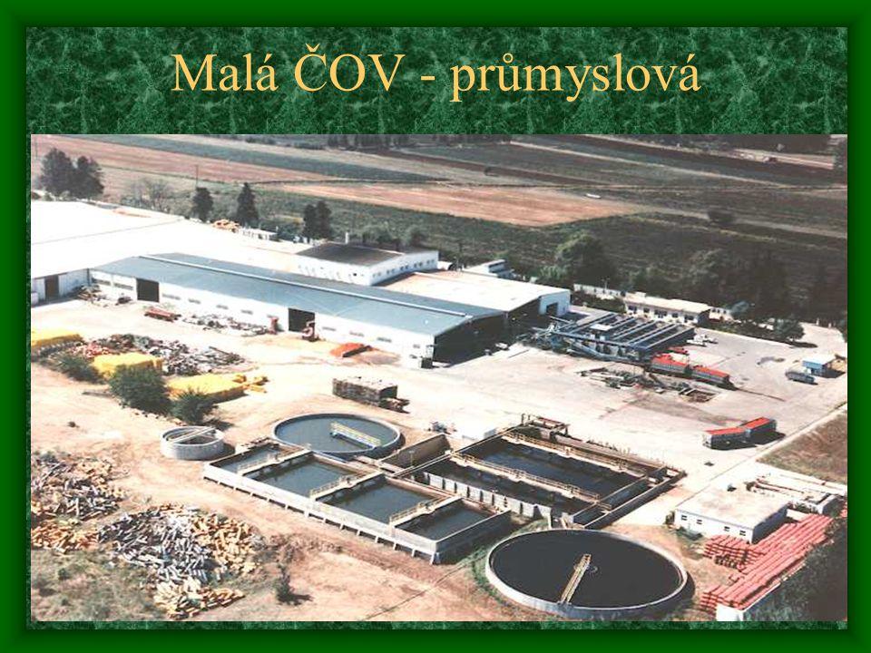 Malá ČOV - průmyslová