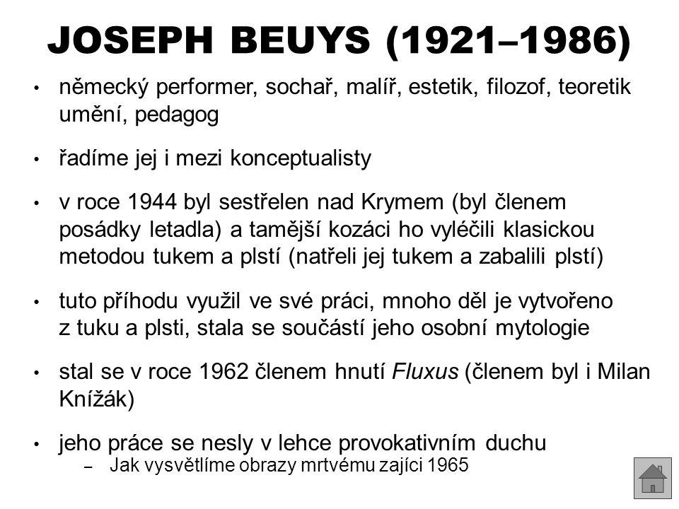 JOSEPH BEUYS (1921–1986) http://commons.wikimedia.org/wiki/File:Steen_des_aanstoots_Bocholt.jpg?uselang=cs