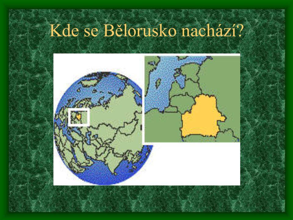 Kde se Bělorusko nachází?