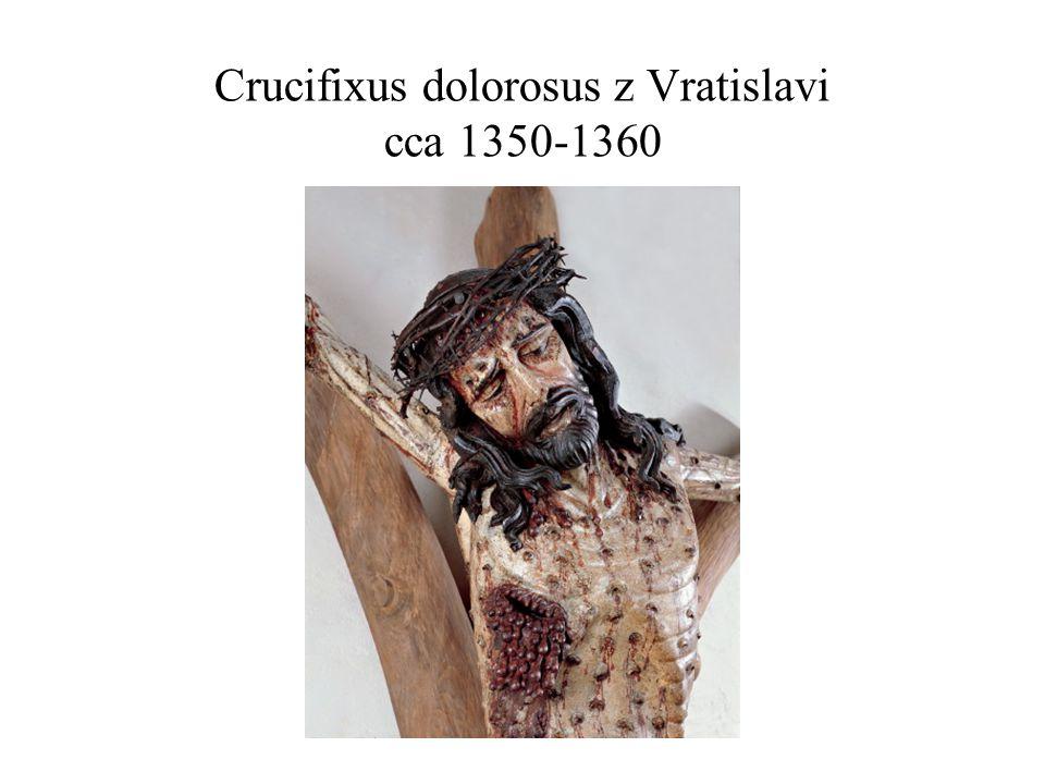 Crucifixus dolorosus z Vratislavi cca 1350-1360
