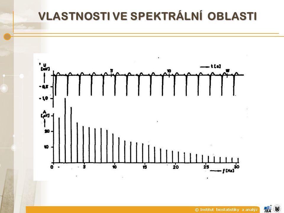 © Institut biostatistiky a analýz VLASTNOSTI VE SPEKTRÁLNÍ OBLASTI