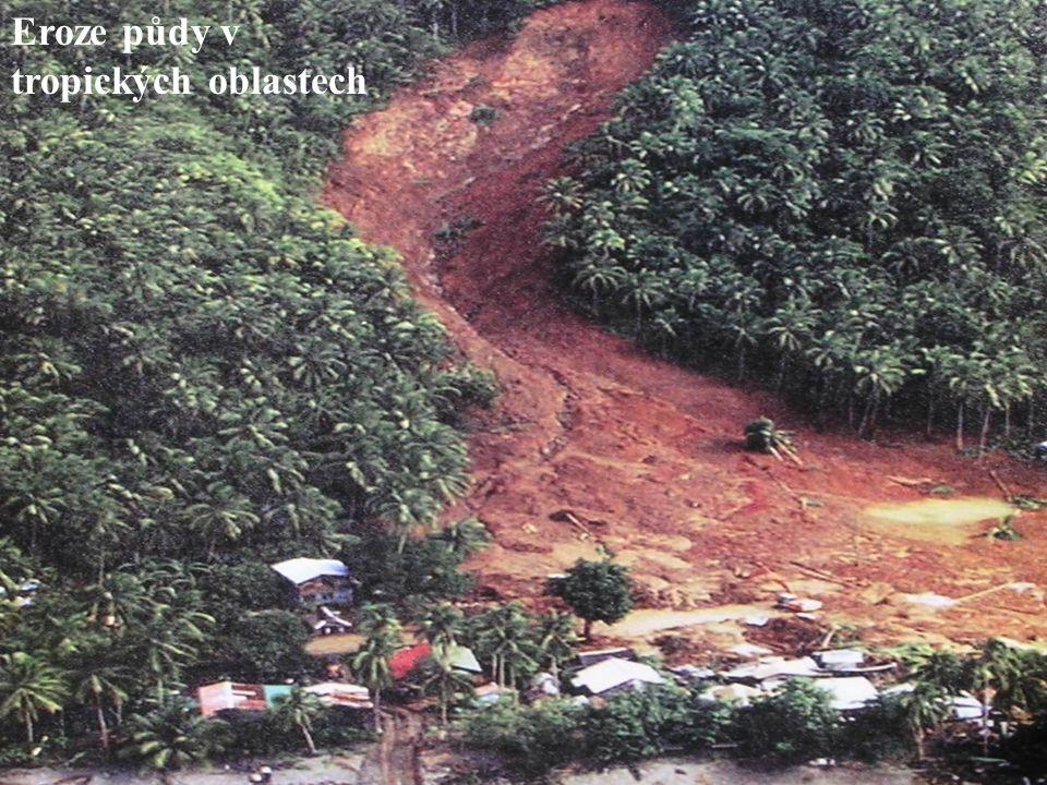 Eroze půdy v tropických oblastech
