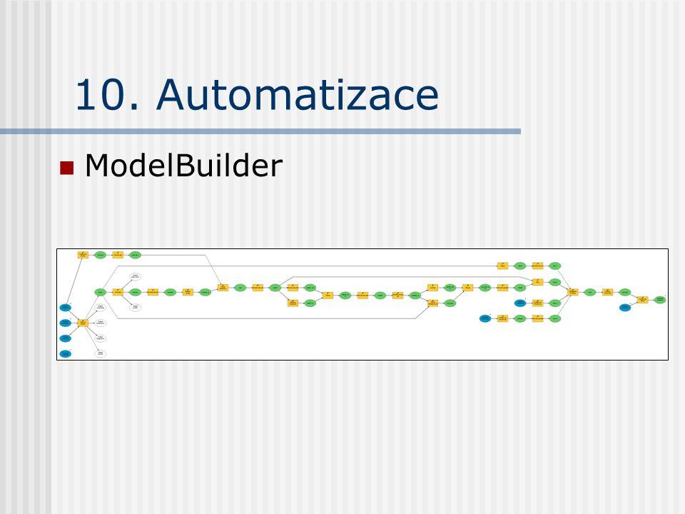 10. Automatizace ModelBuilder