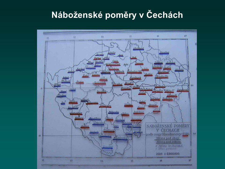 Náboženské poměry v Čechách