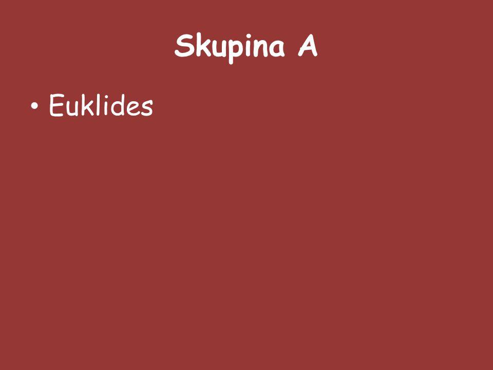 Skupina A Euklides