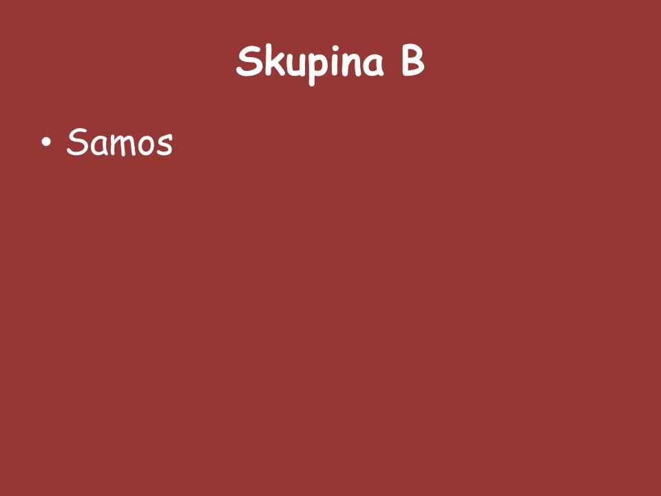 Skupina B Samos