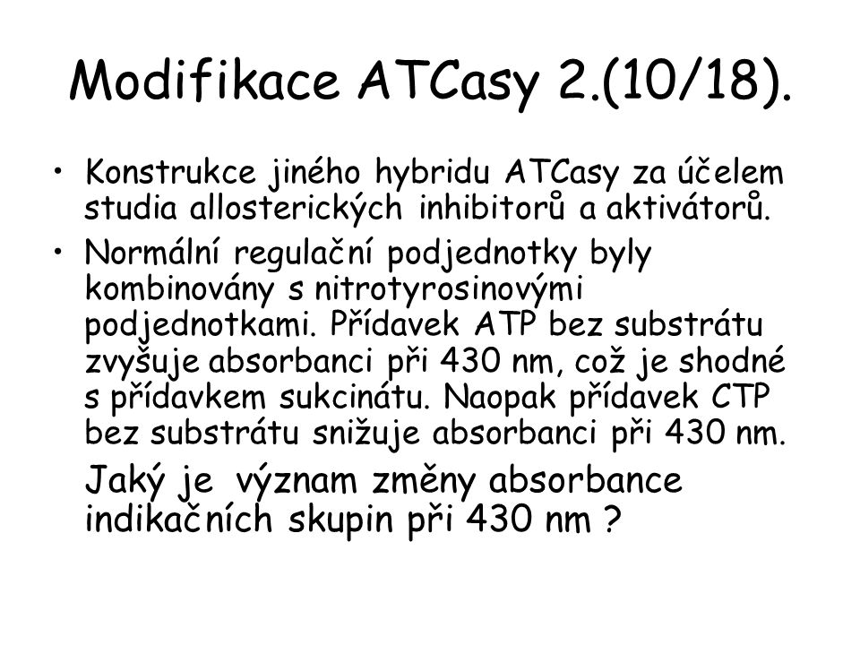 Modifikace ATCasy 2.(10/18).