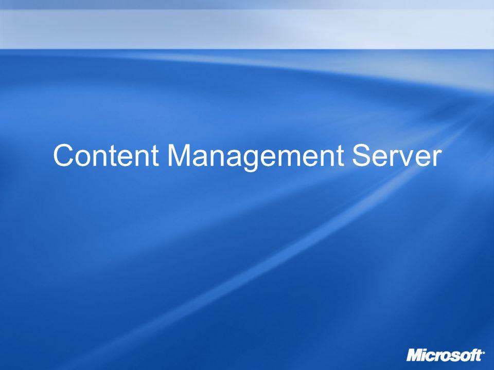 Content Management Server