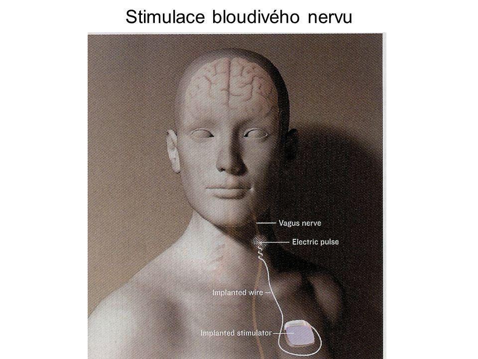 Kraniální nervy Bloudivý nerv –Motorická a senzorická vlákna –Extenzivnější než ostatní kraniální nervy –Prochází krkem (podél karotidy), hrudníkem do břicha Akcesorní nerv –Spojení kraniálních a spinálních kořenů –Prochází podél hypoglosálního a glosofaryngeálního nervu –Kraniální část se spojuje s bloudivým nervem Hypoglosální (podjazykový) nerv –Motorický nerv jazyka