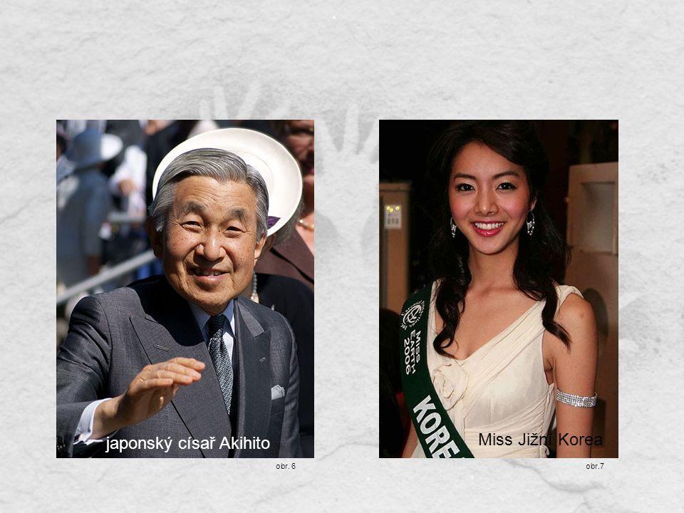 japonský císař Akihito Miss Jižní Korea obr.7obr. 6