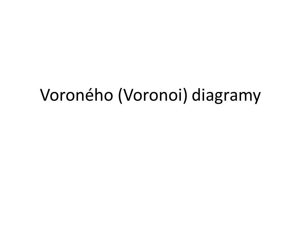 Voroného (Voronoi) diagramy