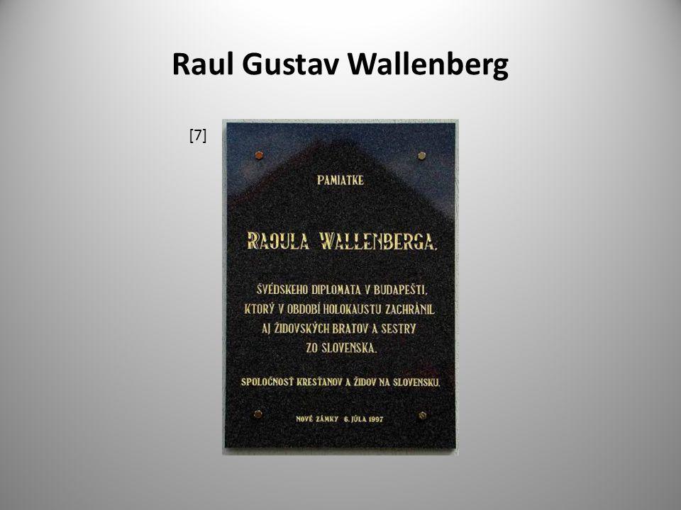 Raul Gustav Wallenberg [7]