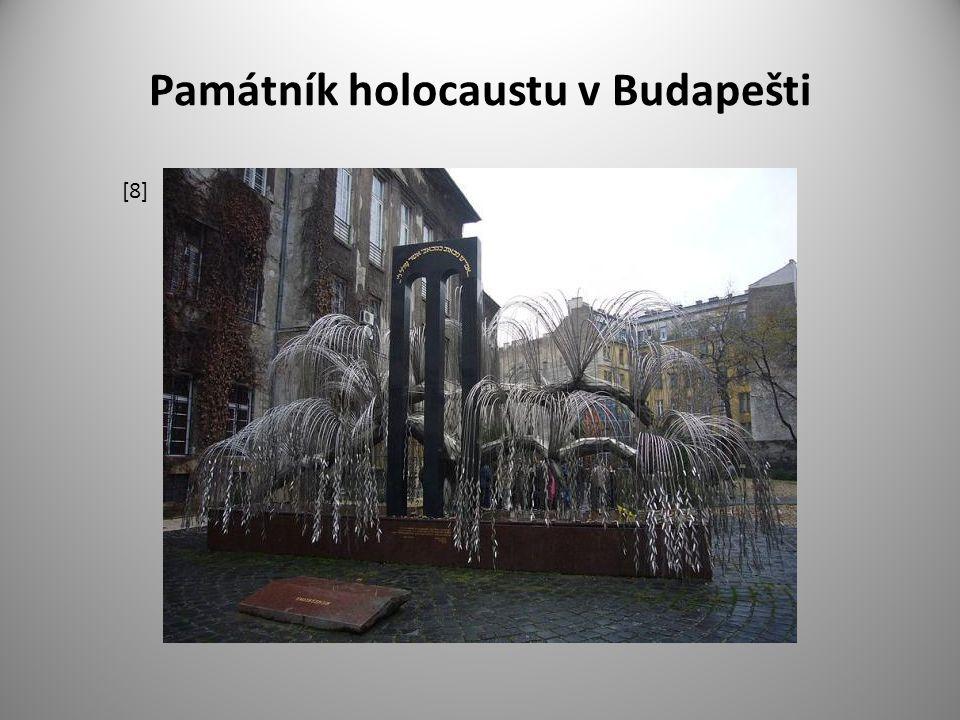 Památník holocaustu v Budapešti [8]