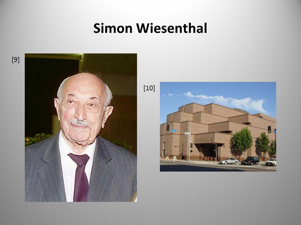 Simon Wiesenthal [10] [9]
