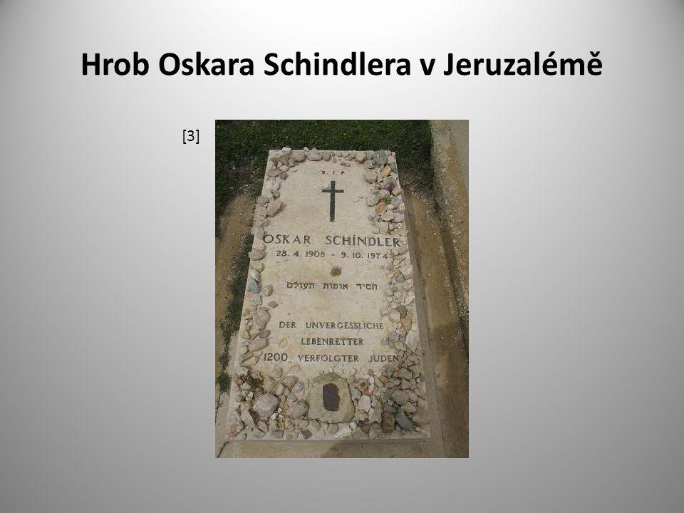 Hrob Oskara Schindlera v Jeruzalémě [3]