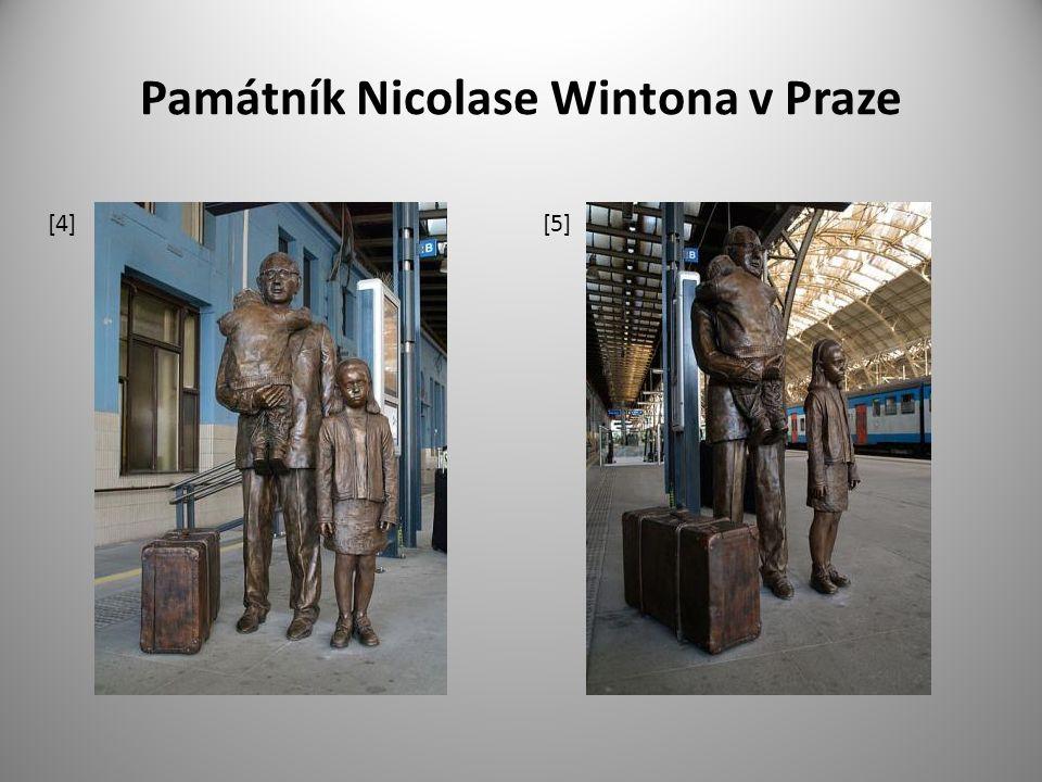 Památník Nicolase Wintona v Praze [4] [5]