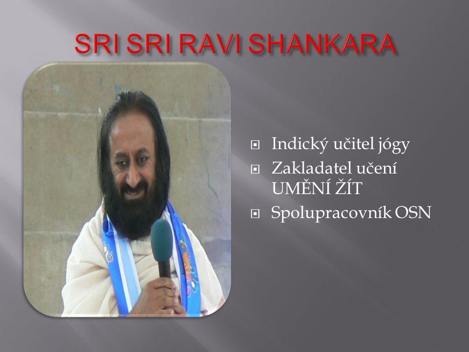Učení SRI SRI RAVI SHANKARA