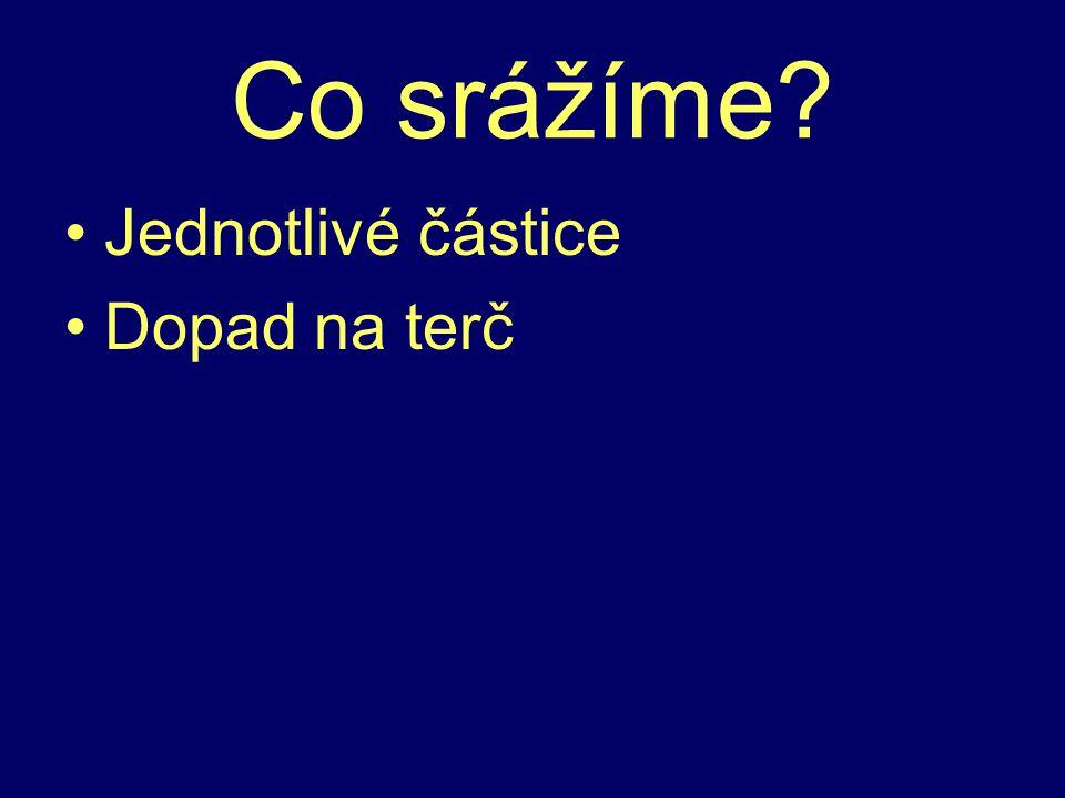 CERN 1. společný vědecký projekt Evropy ČR (1993) Čistá věda - ?hmota, ?velký třesk Cíl