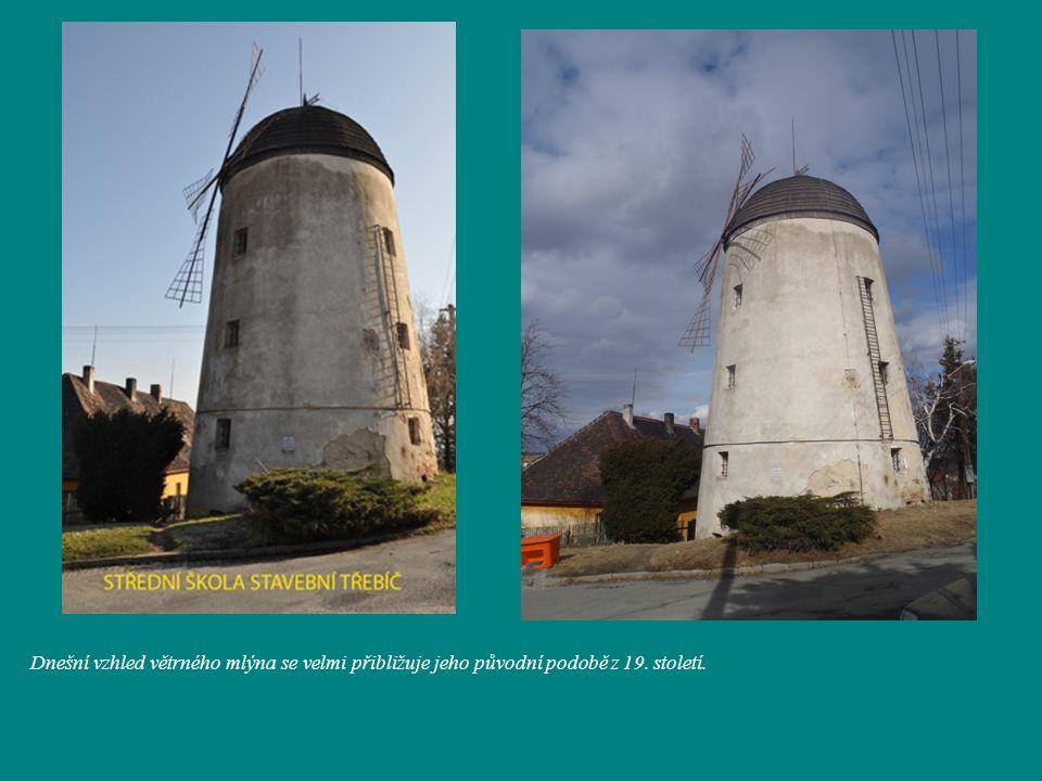Dnešní vzhled větrného mlýna se velmi přibližuje jeho původní podobě z 19. století.