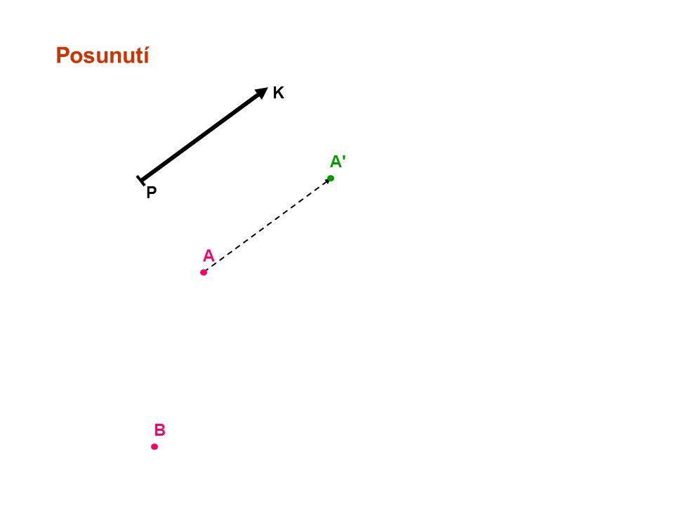 Posunutí P K Samodružné body