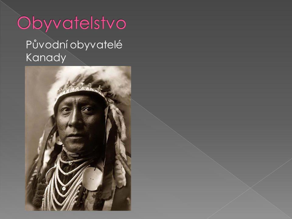 Původní obyvatelé Kanady