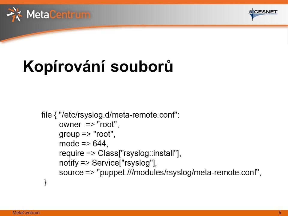 MetaCentrum5 Kopírování souborů file {