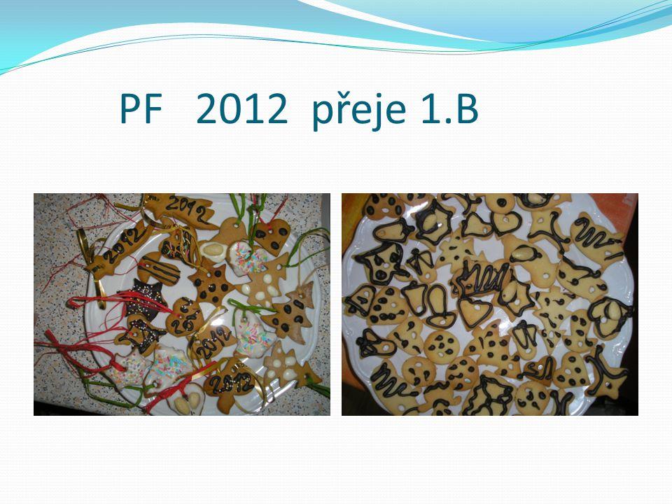 PF 2012 přeje 1.B