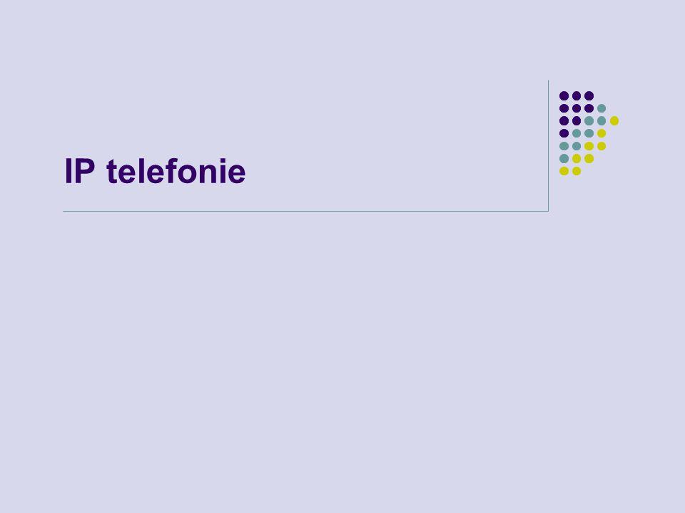 IP telefonie