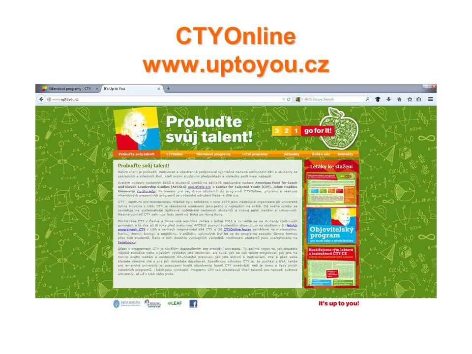 CTYOnline www.uptoyou.cz