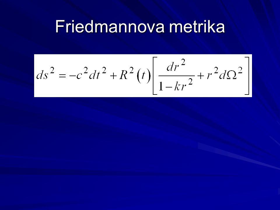 Friedmannova metrika