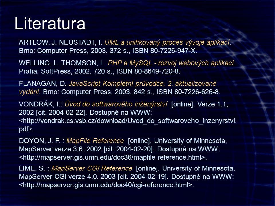 ARTLOW, J. NEUSTADT, I. UML a unifikovaný proces vývoje aplikací.
