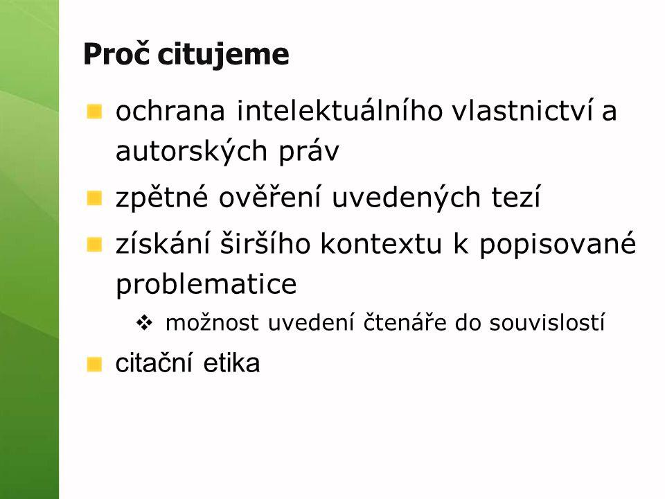 Citace PRO přístup: http://www.citacepro.comhttp://www.citacepro.com od tvůrců Citace.com podrobný návod přihlášení  klikněte na ikonu Masarykova univerzita  zadejte UČO a sekundární heslo