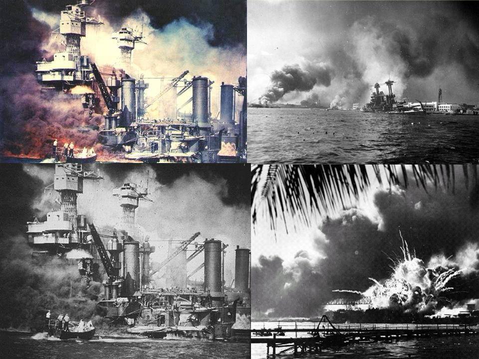 Válka v Pacifiku Japonsko se chystá ovládnout celý východ 7. 12. - letecký útok Japonska na americkou námořní základnu Pearl Harbor 8. 12. vyhlásily U
