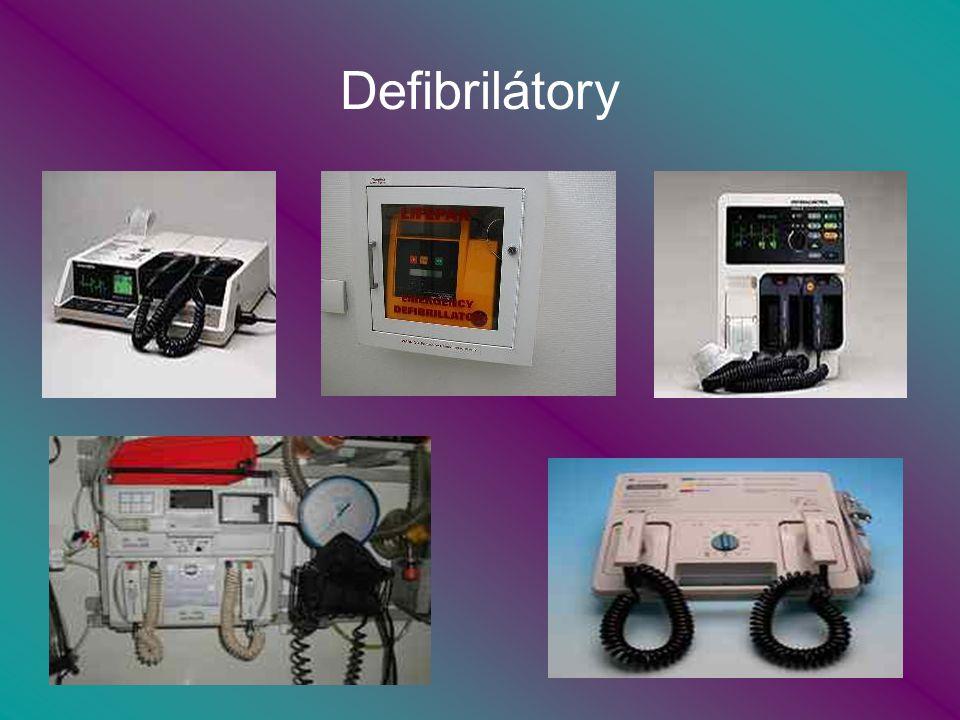 Defibrilátory