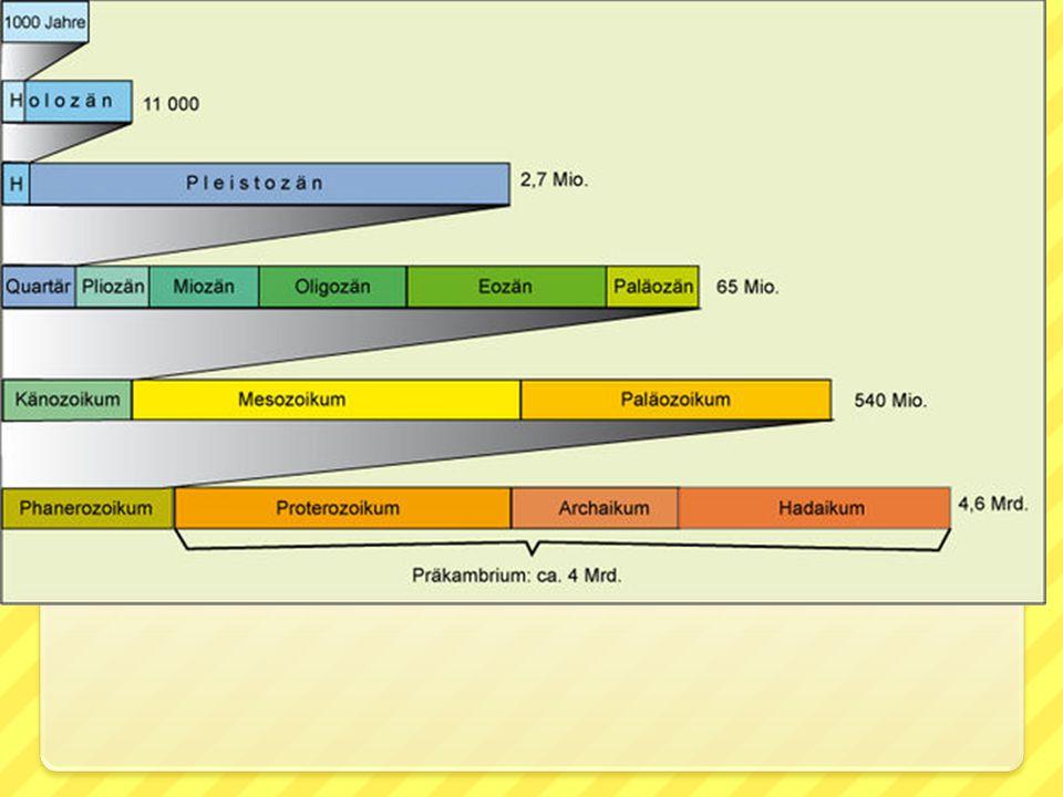 Starohory - proterozoikum 2,5 miliardy až 550 milión ů let četná horotvorná činnost vyvolaná pohyby litosférických desek v atmosféře dochází s nástupem fotosyntézy ke snižování obsahu CO 2 a zvyšování množství kyslíku, tzv.