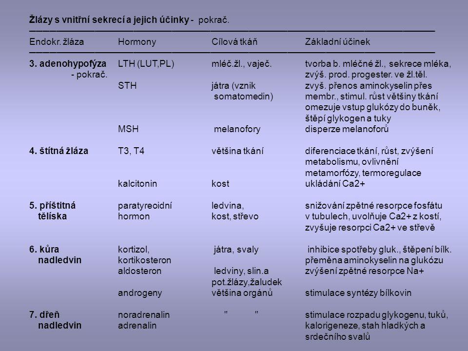 Statokinetické receptory – 3 polokružné chodby a 3 váčky.