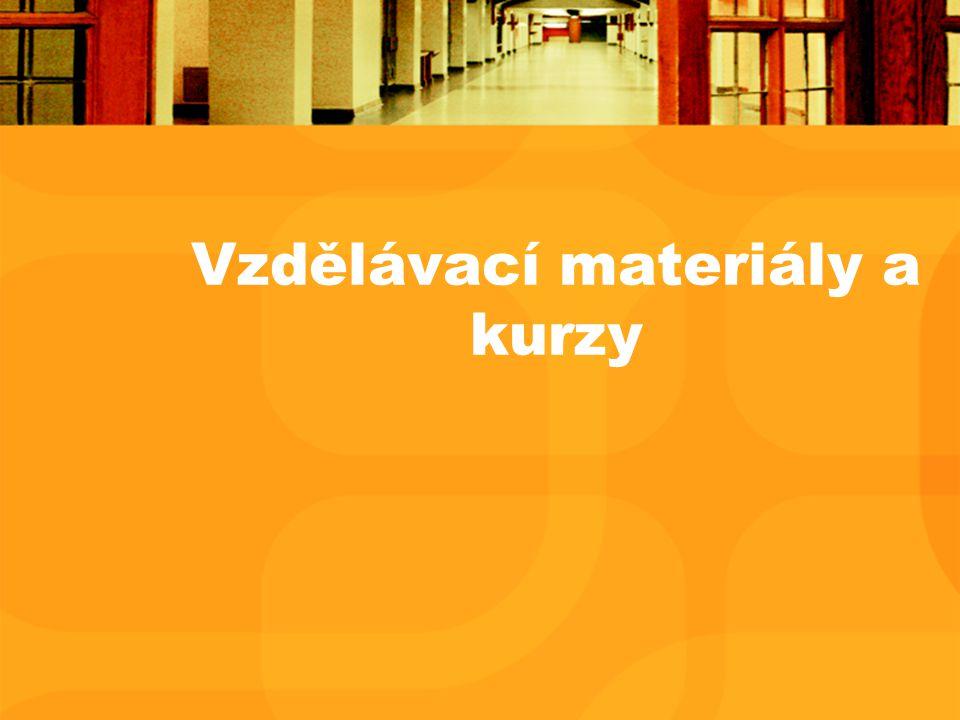 Vzdělávací materiály a kurzy