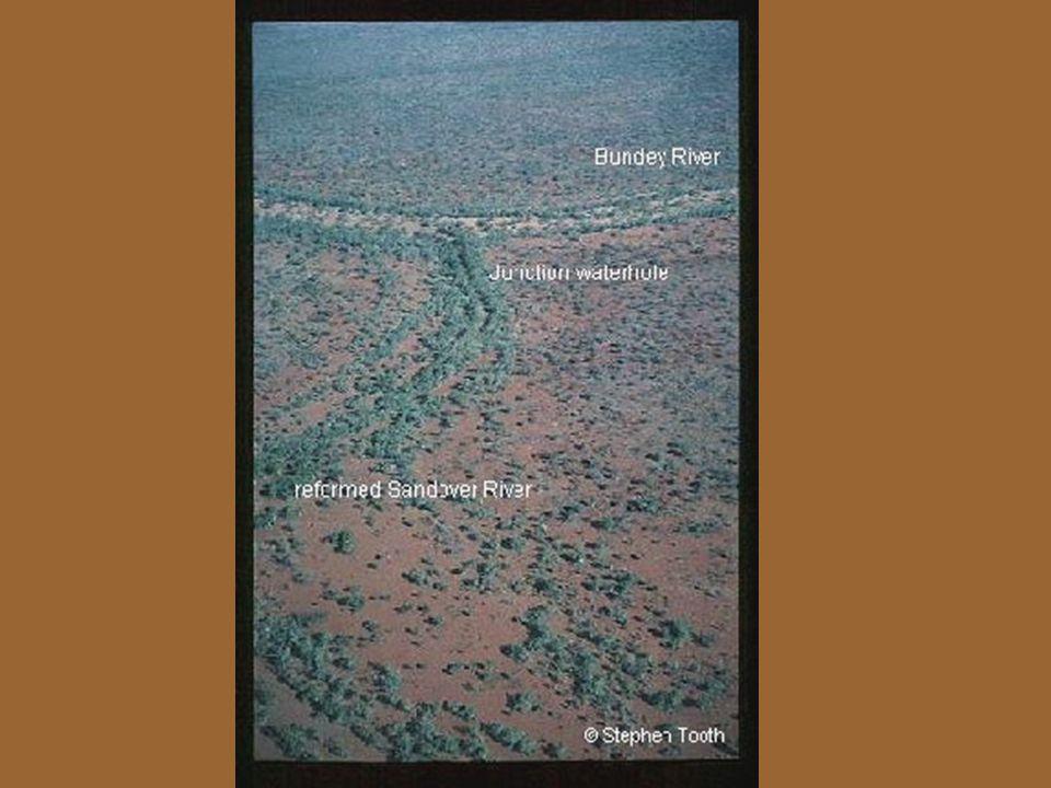 Na úvod Říční vzory – přímé, meandrující, divočící, ANASTOMÓZNÍ Vliv mnoha faktorů (množství splavenin, spád, podloží…) Northern Plains – studium anastomzních toků (morfologie, hydraulické a sedimntologické vlastnosti, formování, pohyb sedimentů)