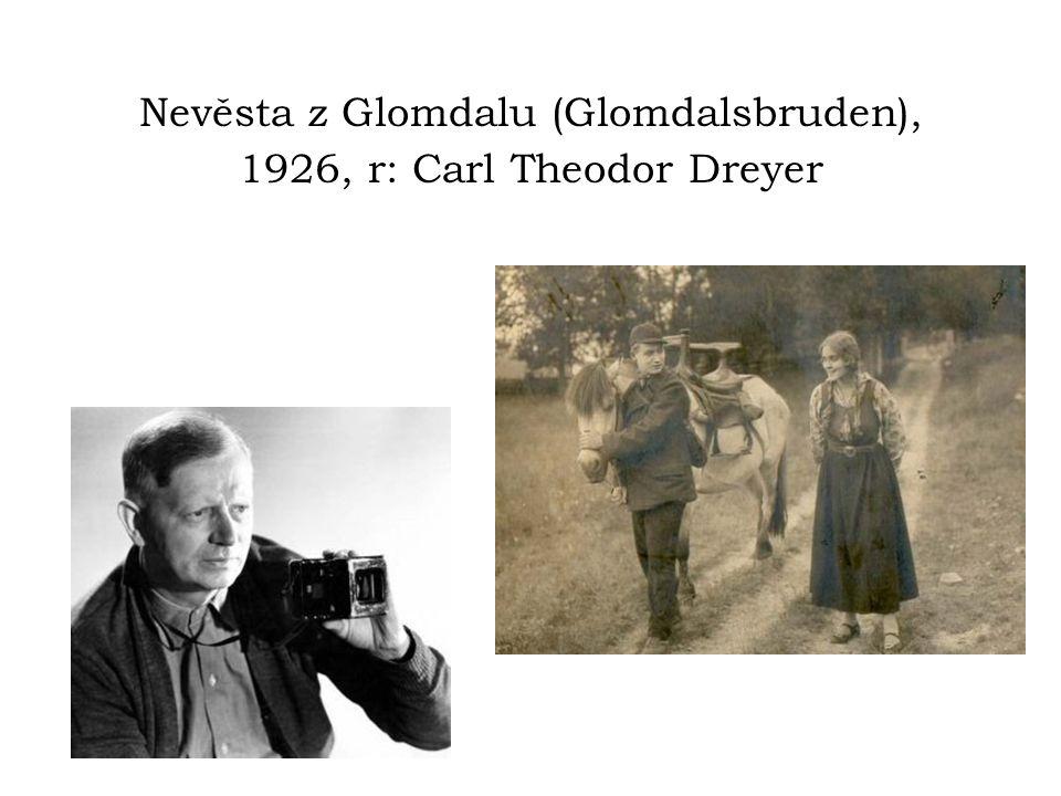 Nevěsta z Glomdalu (Glomdalsbruden), 1926, r: Carl Theodor Dreyer